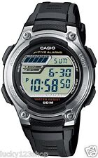 W-212H-1A Genuine Casio 50M WR Watch Digial Sport Resin Band LED light New