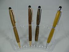 1 x Wooden Ball Point Twist iPad Tablet Stylus Luxury Pen Australian Hand Made