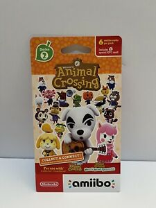 Animal Crossing amiibo Card Pack Series 2 SEALED BRAND NEW
