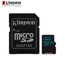 Kingston Canvas Go! 128GB micro SDXC Memory Card V30 UHS-I U3 Tracking Included