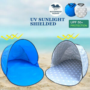 Pop Up Camping Beach Tent Portable Hiking Sun Shade Shelter Fishing 1/2 Person