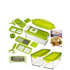 Genius-nicer atribuye plus set 17 piezas verduras Schneider verde + complemento recipientes set