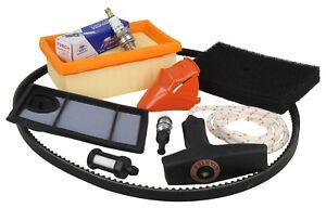 Full Service Kit Fits STIHL TS400 Air  Fuel Filter Handle Rope Plug Belt Decomp