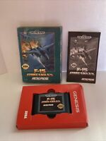F-15 Strike Eagle II (Sega Genesis, 1993) Complete - Tested - Free Shipping USA