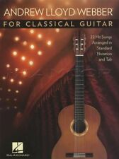 Andrew Lloyd Webber for Classical Guitar TAB Music Book Cats Evita Requiem