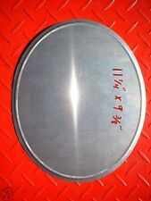 """Oval shaped Pizza MX Racing Number Plate Motocross alloy  AHRMA  Vintage .040"""""""