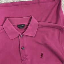 MARLBORO Classics Men's Size M Pink Weekend Casual Holiday Polo T-Shirt
