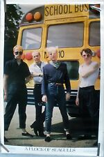RARE FLOCK OF SEAGULLS 1981 VINTAGE ORIGINAL MUSIC POSTER