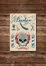 Barber Shop Sign, Metal Sign, Barber Shop Signs, Modern Style, Barber Shop, 832