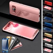 Shockproof Hybrid 360 Ultra Thin Mirror Hard Case Samsung Galaxy S7 edge S8 S9 +