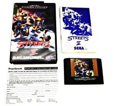 STREETS OF RAGE II 2 OZISOFT SEGA MEGA DRIVE GAME2 VERY RARE SUIT COLLECTOR +FP!