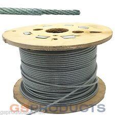 1,2-1,5 mm 7x7 De Acero Inoxidable Recubierto Con Pvc De Cuerda de alambre Precio Por Metro Entrega Gratis