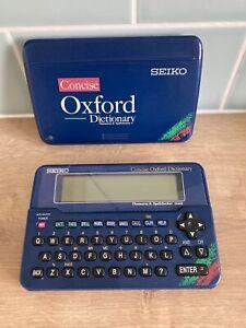 SEIKO ER6000 Concise Oxford Electronic Dictionary Thesaurus Spellchecker Faulty