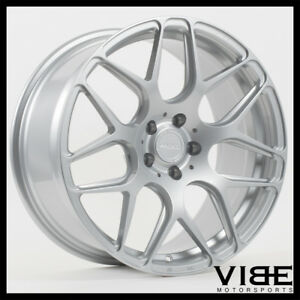 """20"""" MRR FS01 SILVER FLOW FORGED CONCAVE WHEELS RIMS FITS INFINITI G35 COUPE"""