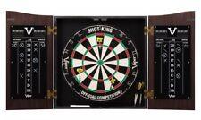Viper VAULT Dartboard Cabinet Set SHOT KING Bristle Sisal Board DARTS 40-0377