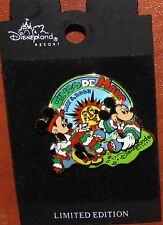 DISNEY PIN CARDED MINNIE MOUSE MICKEY CINCO DE MAYO LE 3D