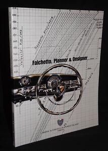 BATTISTA FALCHETTO PLANNER & DESIGNER LIBREIA STORICA BOOK LANCIA APRILIA
