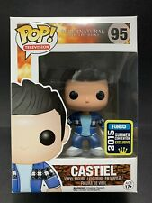 Funko Pop Vinyl FRENCH MISTAKE CASTIEL 2015 SDCC #95 SUPERNATURAL in Protector