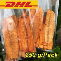 250g x2 Crushed Fresh Dried Squid Crispy 3 flavors Seafood Snack Sweet Spicy Fis