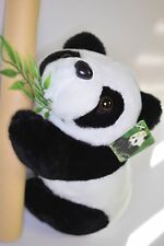 """9"""" Panda Bear Plush Decoration Giveaways Party Game Favors Kids Chinese Zoo Play"""