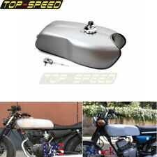 Retro Tanks 2.4 Gallon Gas Fuel Tank For Yamaha RD50 RD350 Honda BMW Cafe Racer