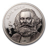 2019 Mongolia 1 oz Silver Revolutionaries (Karl Marx) - SKU#188063