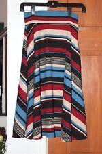 Agnes & Dora XS Midi Skirt Striped