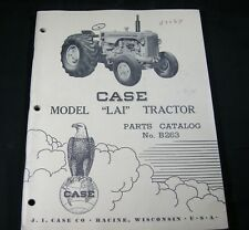 CASE Model LAI Tractor Parts Manual Book Catalog List