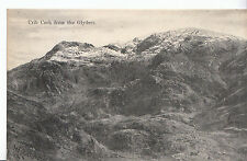 Wales Postcard - Crib Goch from The Glyders     J96