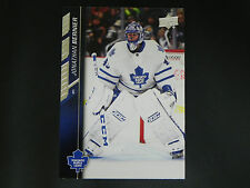 2015-16 UD Upper Deck Series 2 Base Card #426 Jonathan Bernier Toronto