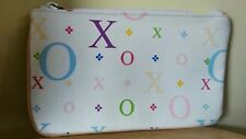 "XOXO WRISTLET Vinyl /White Multi Color PASTEL 8"" by 4 3/3"" ~New!"