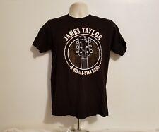 James Taylor Before This World 2016 Tour Adult Medium Black TShirt