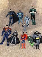 10x Action Figure Bundle Job Lot - DC Comics - Batman - Robin - Superheroes (3)