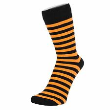 Thin Striped Black Ankle Socks (Size: 4-7)