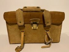 Vintage Genuine Cowhide Leather Camera Bag Unbranded Not Complete