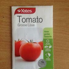 2 X YATES TOMATO(GROSSE LISSE) SEEDS (BNISP) HOME GARDEN FAVOURITE
