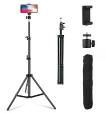 Adjustable 1.6M Tripod Stand Mobile Phone Camera & Holder with Carry Bag