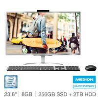 Medion Akoya E23401 23.8 FHD AIO Desktop PC i5-8250U 8GB 2TB+256GB W10 30026003+
