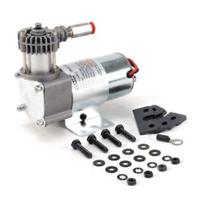 VIAIR 02495 95C Compressor Kit External Check Valve Omega Bracket 24V 9% Duty Se