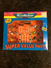 Vintage 1995 Galoob Micro Machines Super Value Pack 30 Pieces NEW Micromachines