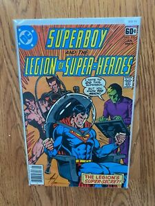 Superboy and the Legion of Super Heroes 235 - Comic Book-B68-96