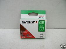 ARROW JT-21 JT21 TACKER STAPLES 8MM 1000 PER PACK TYPE 53