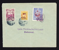 Turkey Turkish philatelic cover displaying three stamps Brief Envelope Lettre
