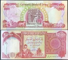 25,000 of IRAQI DINAR MONEY - 1 x 25000 BANKNOTE - IQD - AUTHENTIC - VERIFIED!