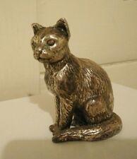 Antique cat statue figurine  small