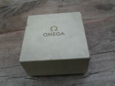 vintage omega watch box 1969 with guarantee pouch + paperwork
