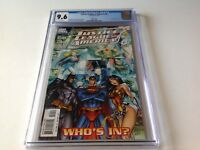 JUSTICE LEAGUE OF AMERICA 0 CGC 9.6 WHITE J SCOTT CAMPBELL VARIANT CVR DC COMIC