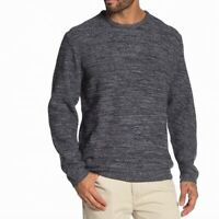 Weatherproof Vintage Mens Sweater Navy Blue Size Large L Crewneck Knit $75 078