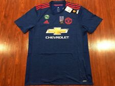 2016-17 Adidas Authentic Player Manchester United Men's Soccer Jersey XL Man U