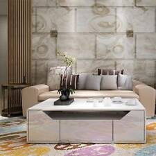 New Modern SK Coffee Table High Gloss White Three Drawers Lounge Furniture